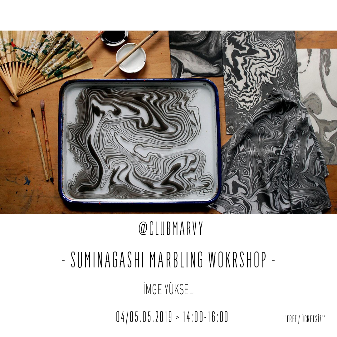 Suminagashi Marbling Workshop