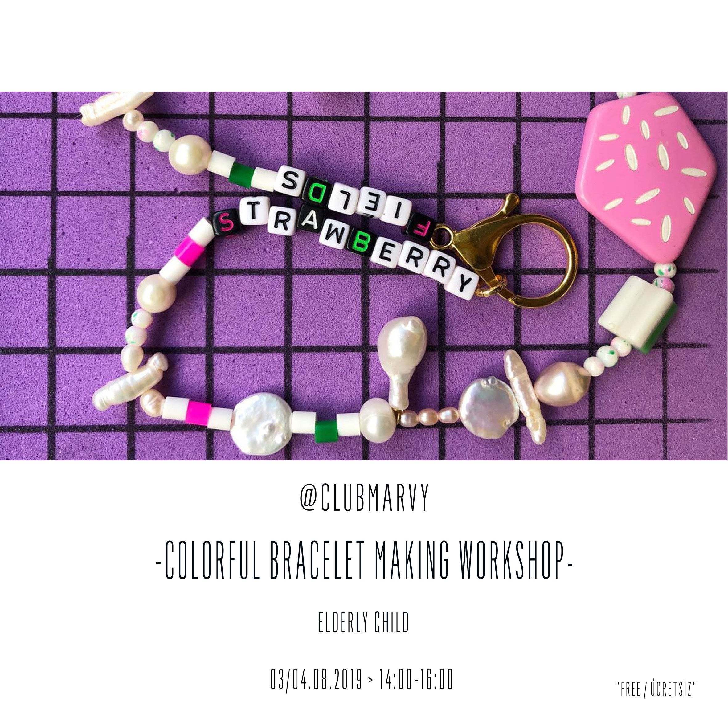 Colorful Bracelet Making Workshop