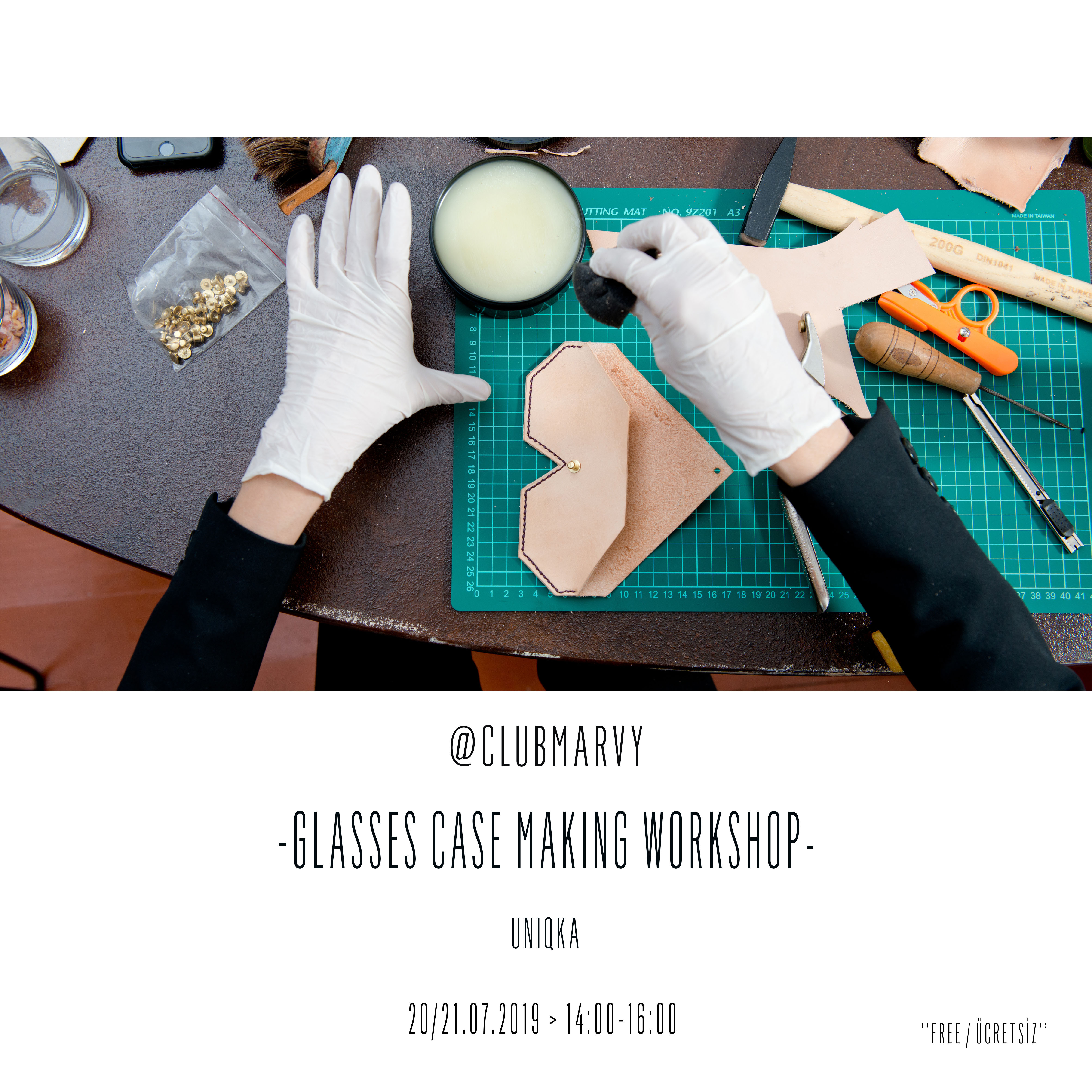 Glasses Case Making Workshop